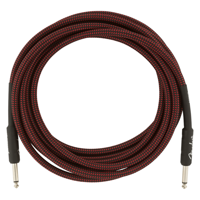 Fender - Professional Series Instrument Cable, Red Tweed, 15'