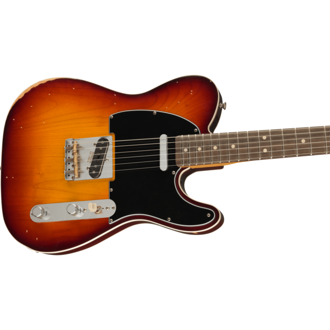 Fender - Jason Isbell Custom Artist Series Telecaster RW, 3-Color Chocolate Burst (w/Deluxe Gigbag)