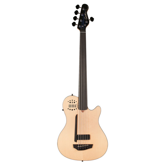 Godin - A5 ULTRA Semi-Acoustic 5 String Bass w/Gigbag