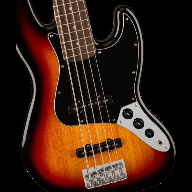 Squier Affinity Series Jazz Bass V, Laurel Fingerboard, 3-Color Sunburst