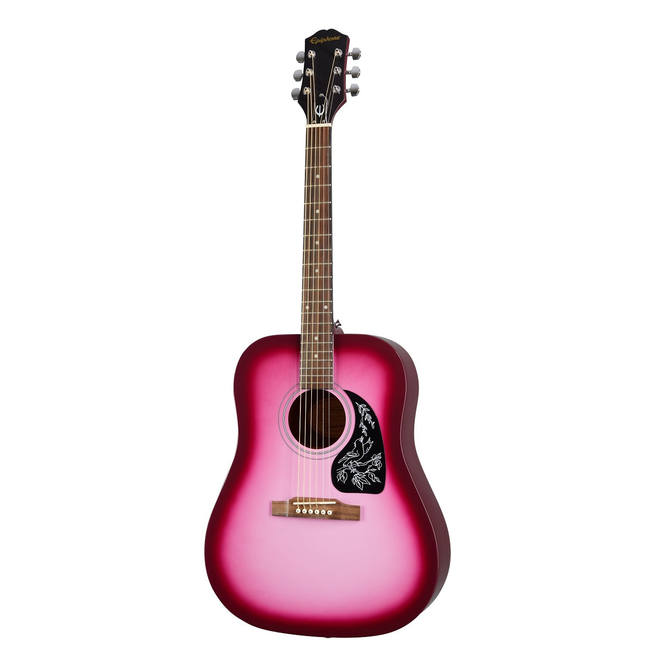 Epiphone - Starling Dreadnought Acoustic Starter Pack, Pink Pearl