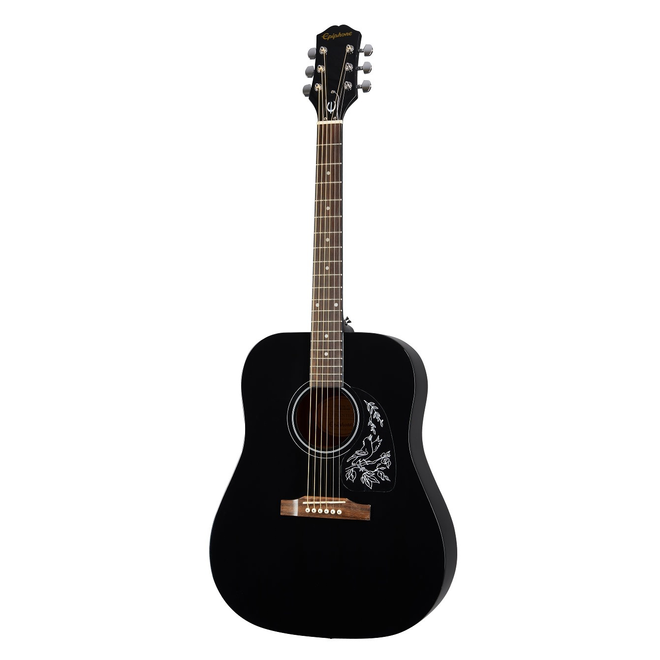 Epiphone - Starling Dreadnought Acoustic Starter Pack, Ebony