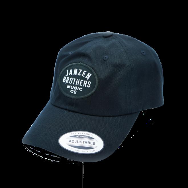 JB Music Co. Dad Hat, Black, Oval Badge