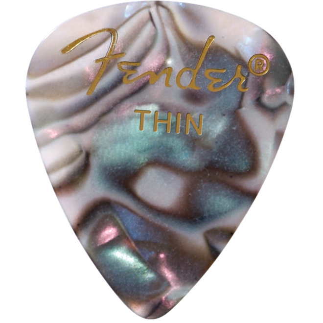Fender - 351 Celluloid, Abalone Thin, 12 pack
