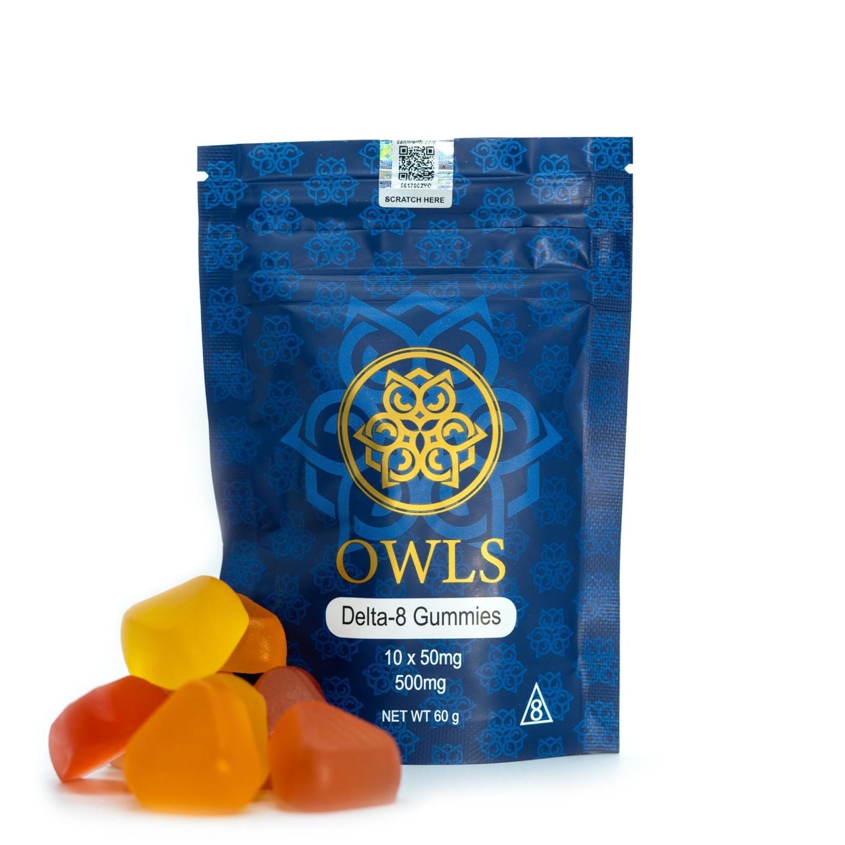 Owls Delta 8 Gummies 500mg