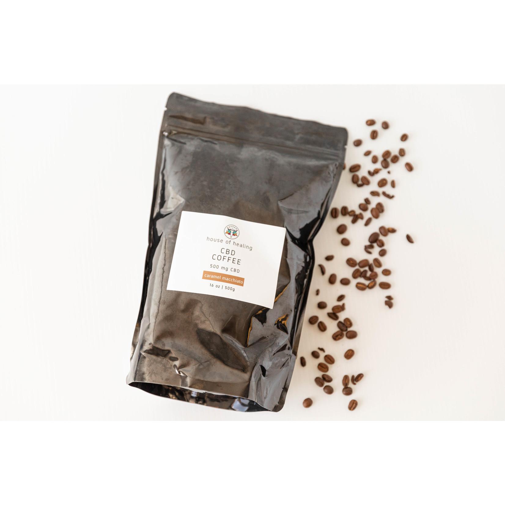 CBD Coffee - Caramel Macchiato