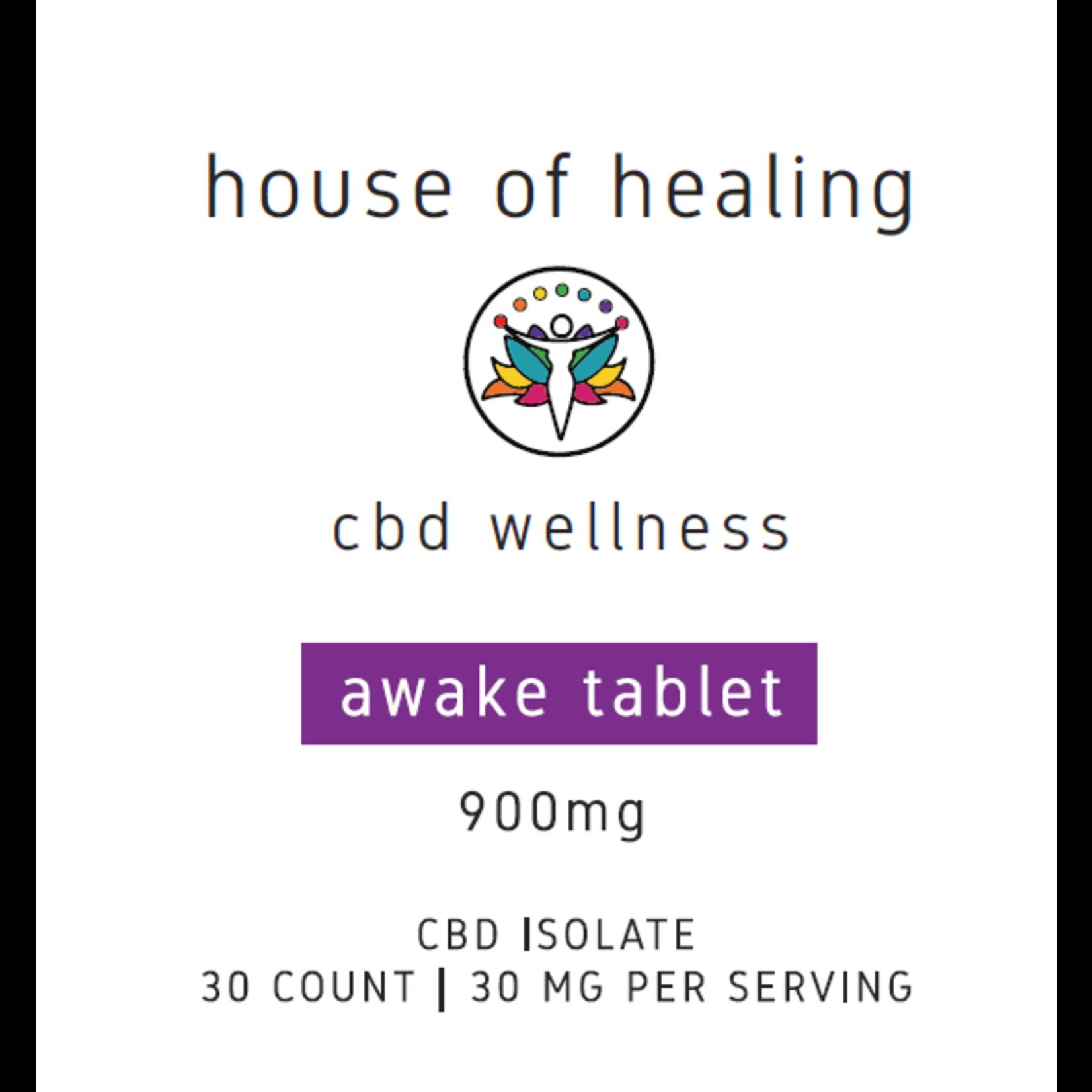 CBD Awake Pressed Pills - Zero THC