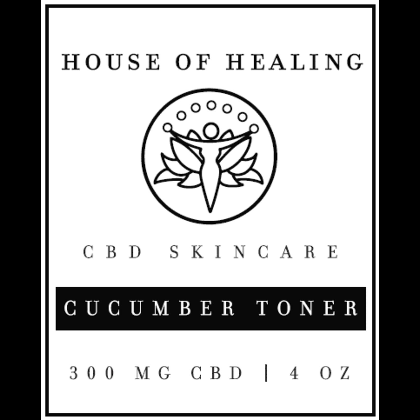 CBD Cucumber Facial Toner