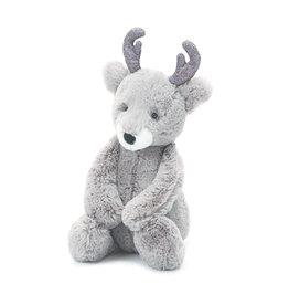 JellyCat London Bashful Glitz Reindeer