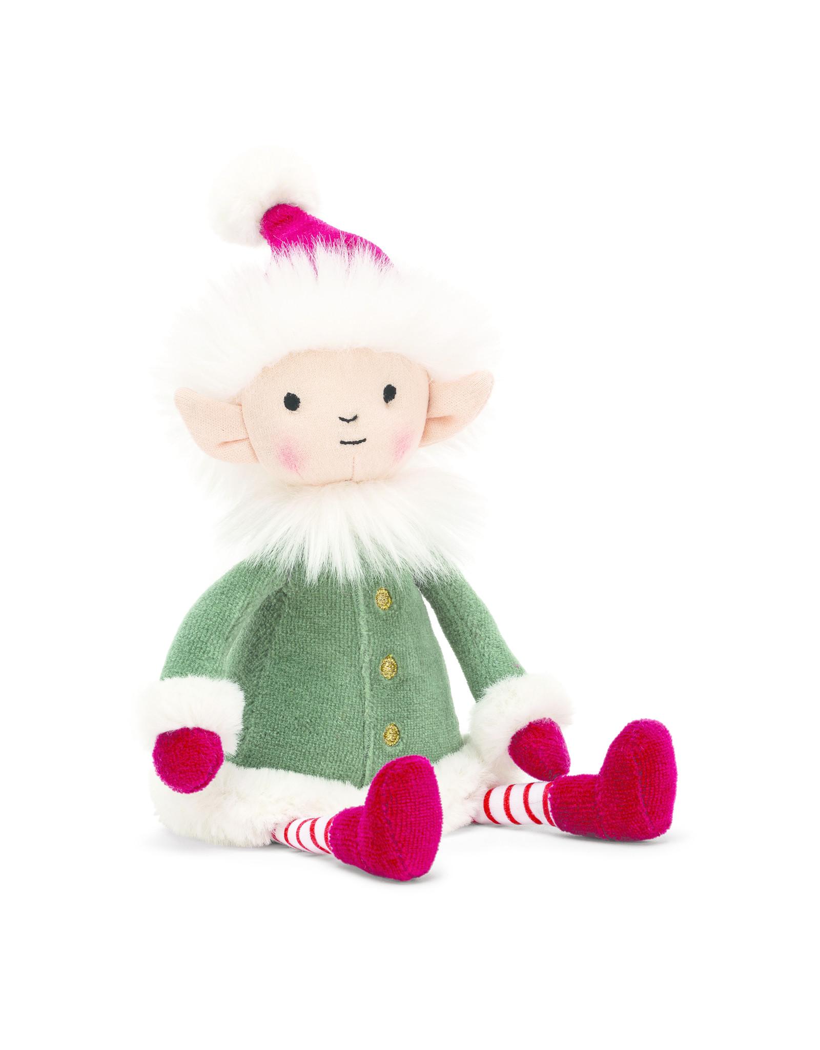 JellyCat London Leffy Elf Small