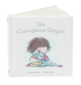 JellyCat London The Courageous Dragon Book