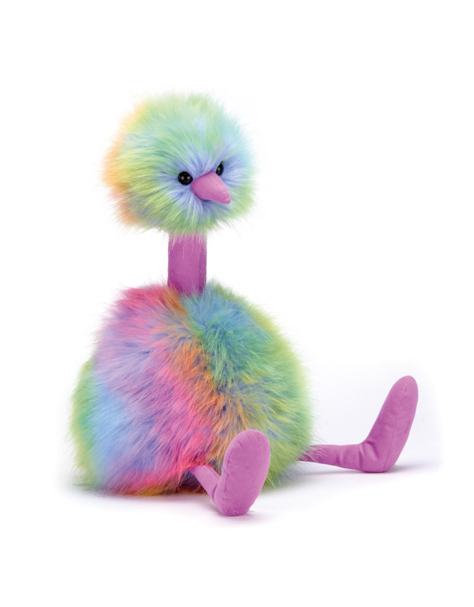 JellyCat London Rainbow Pom Pom Medium