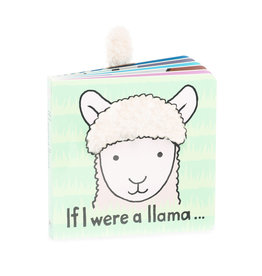 JellyCat London If I Were A Llama Book