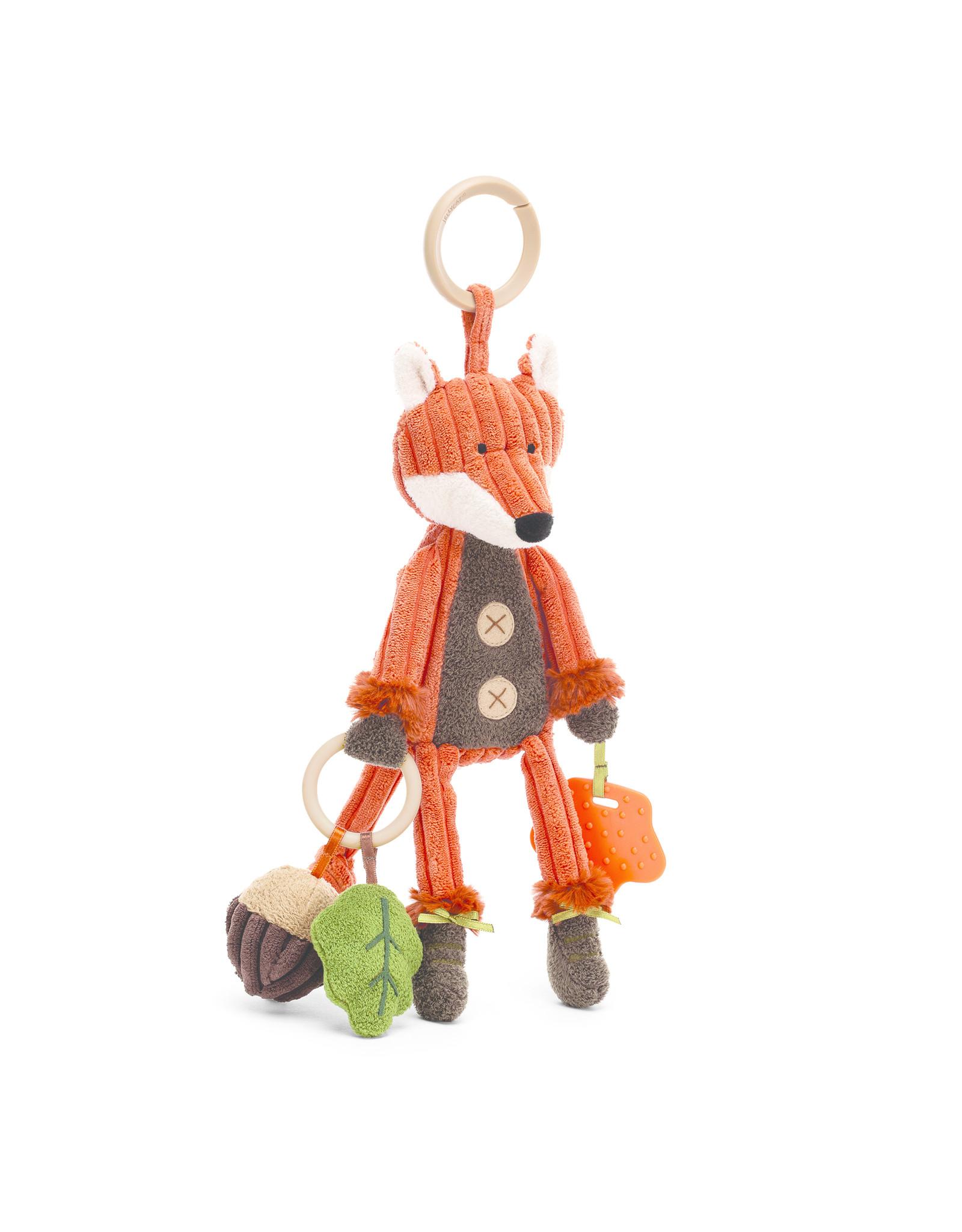 JellyCat London Cordy Roy Fox Activity Toy