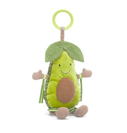 JellyCat London Amuseable Avocado Activity Toy