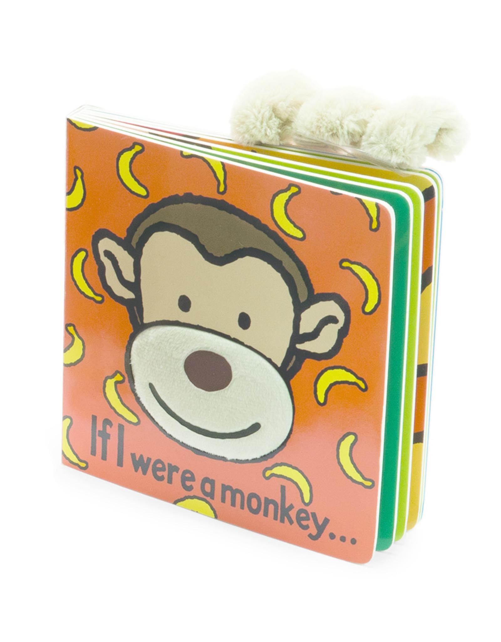 JellyCat London If I Were A Monkey Book