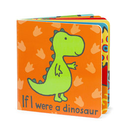 JellyCat London If I Were A Dinosaur Book