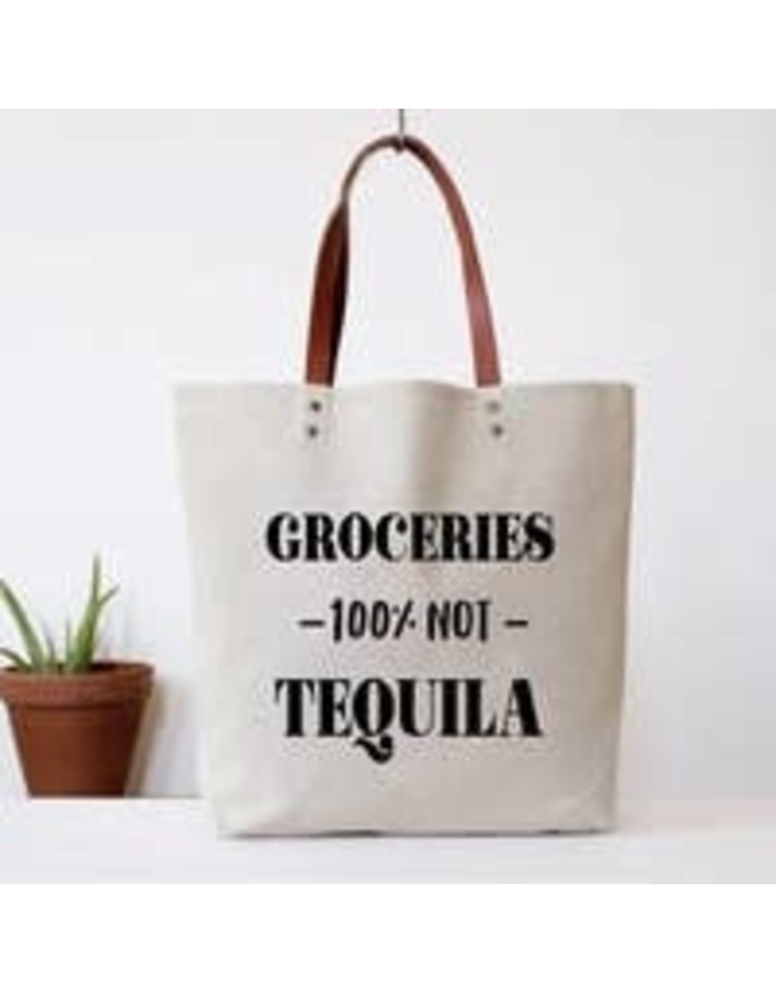 Fun Club Groceries Not Tequila Bag