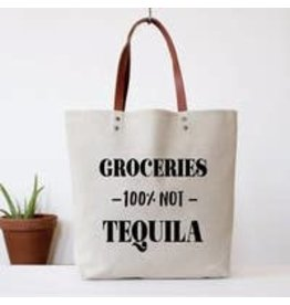 Fun Club Groceries Not Tequila Bag
