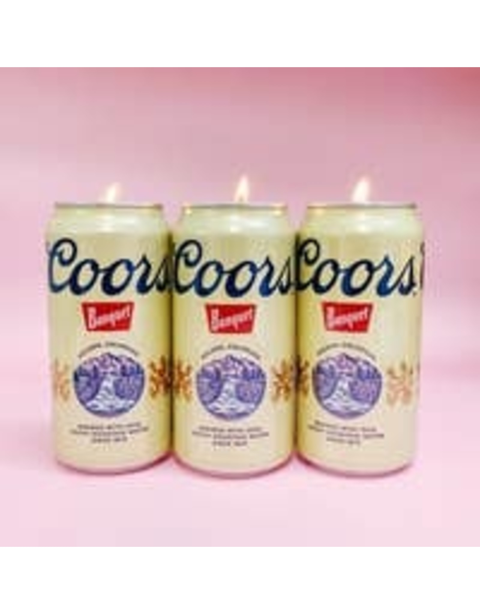 Fun Club Coors Candle