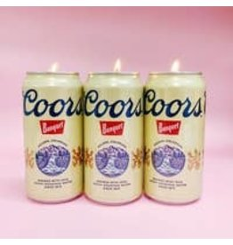 Fun Club Coors Candle