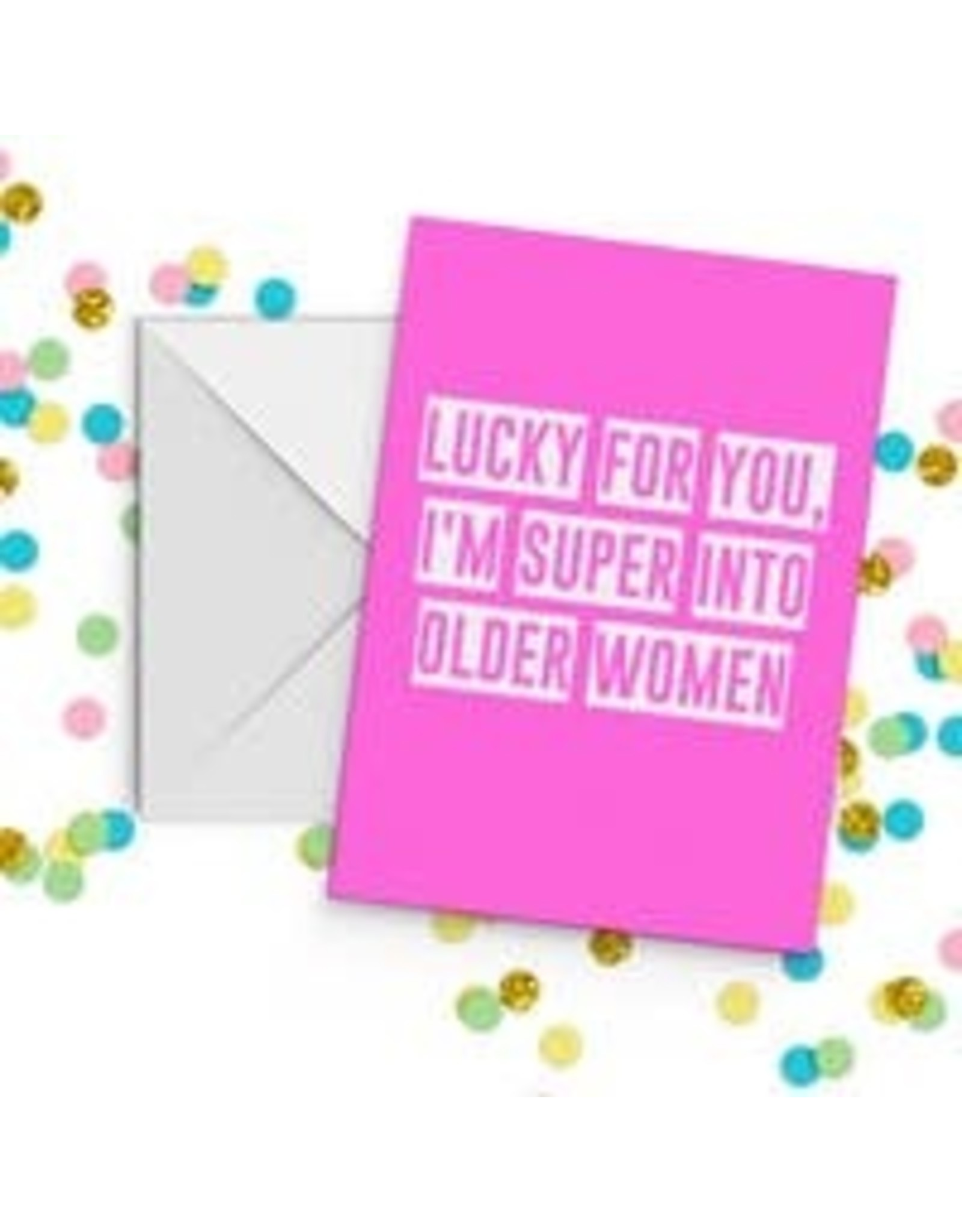 Fun Club Lucky For You Older Women Card