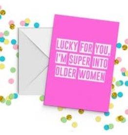 Fun Club Lucky For You Older Women Card