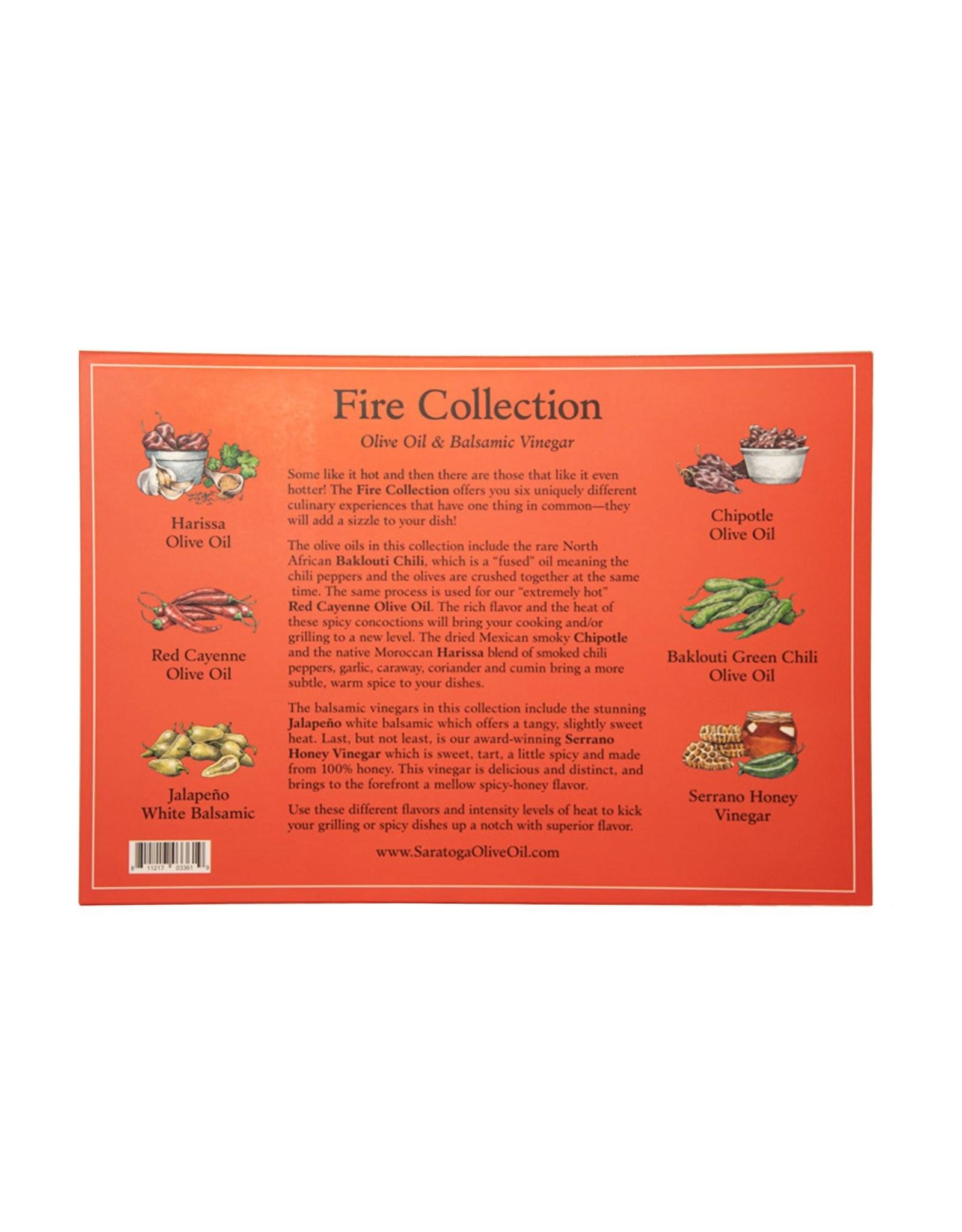 Saratoga Olive Oil Company Fire Collection