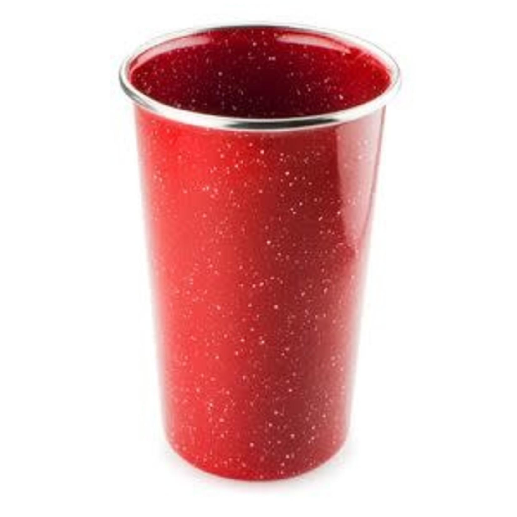 GSI GSI Pioneer Red Enamel Pint Mug