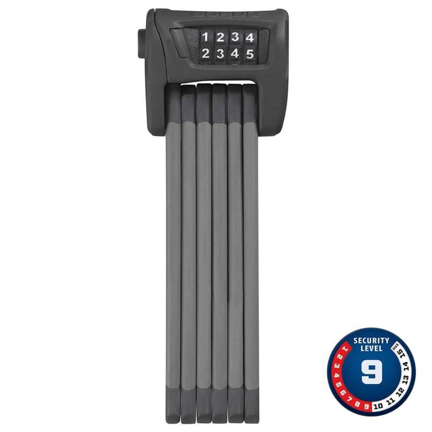 Abus Abus Bordo 6100 Combo Folding Lock, 90cm