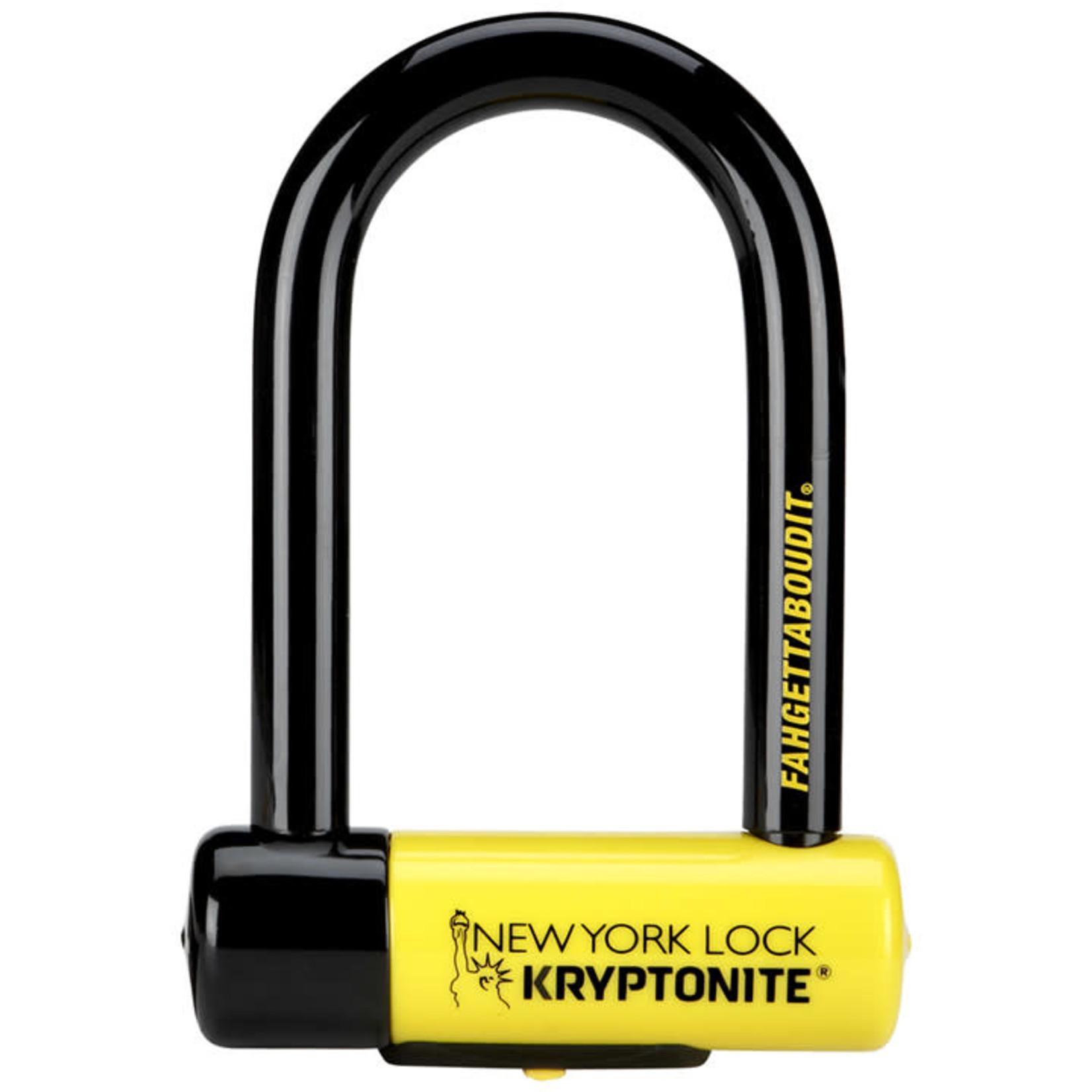 Kryptonite Kryptonite New York Fahgettaboudit U-Lock
