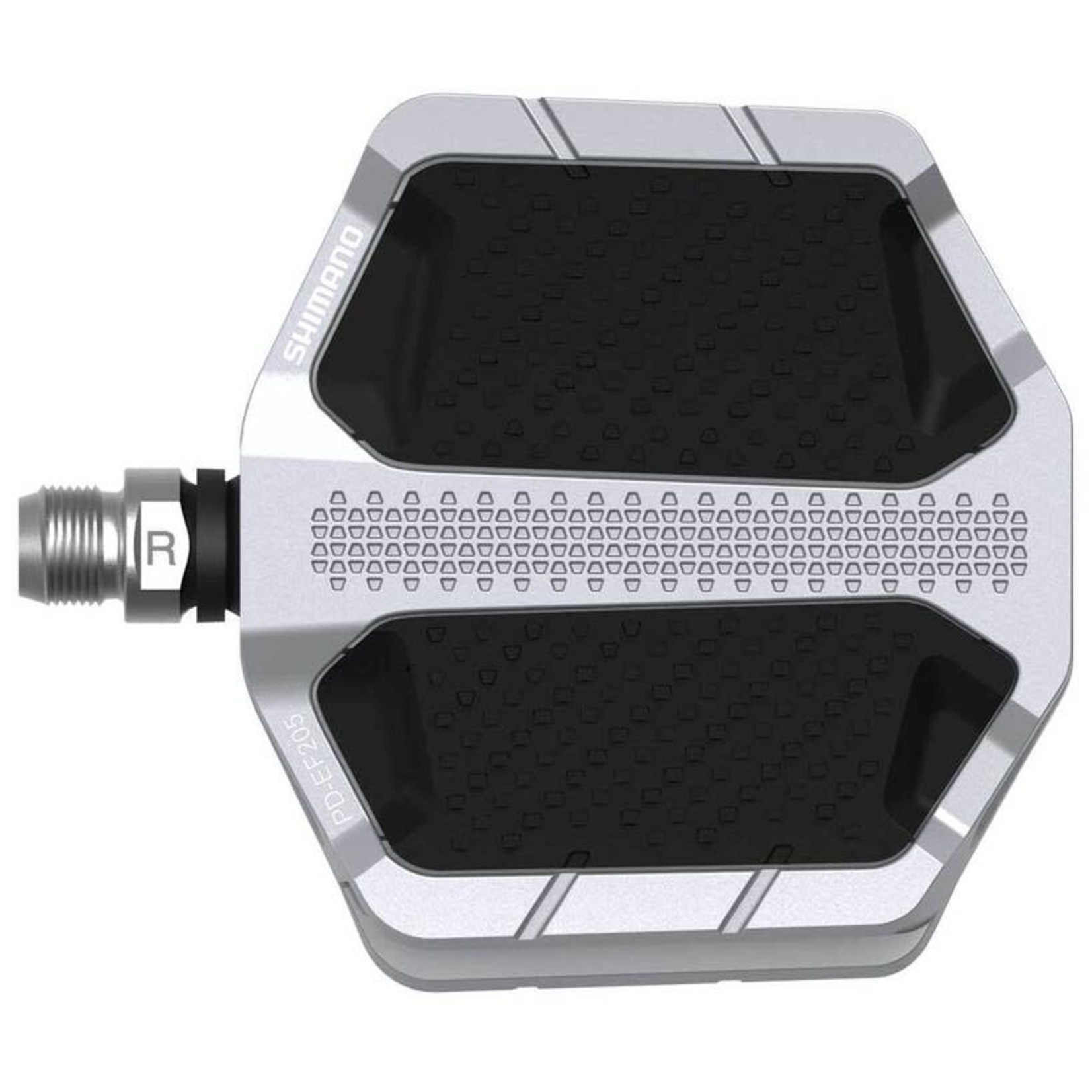 Shimano Shimano Flat Pedals w/ Friction Plate, PD-EF205