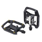BBB BBB Dualforce Pedals, Trail SPD/flat combo
