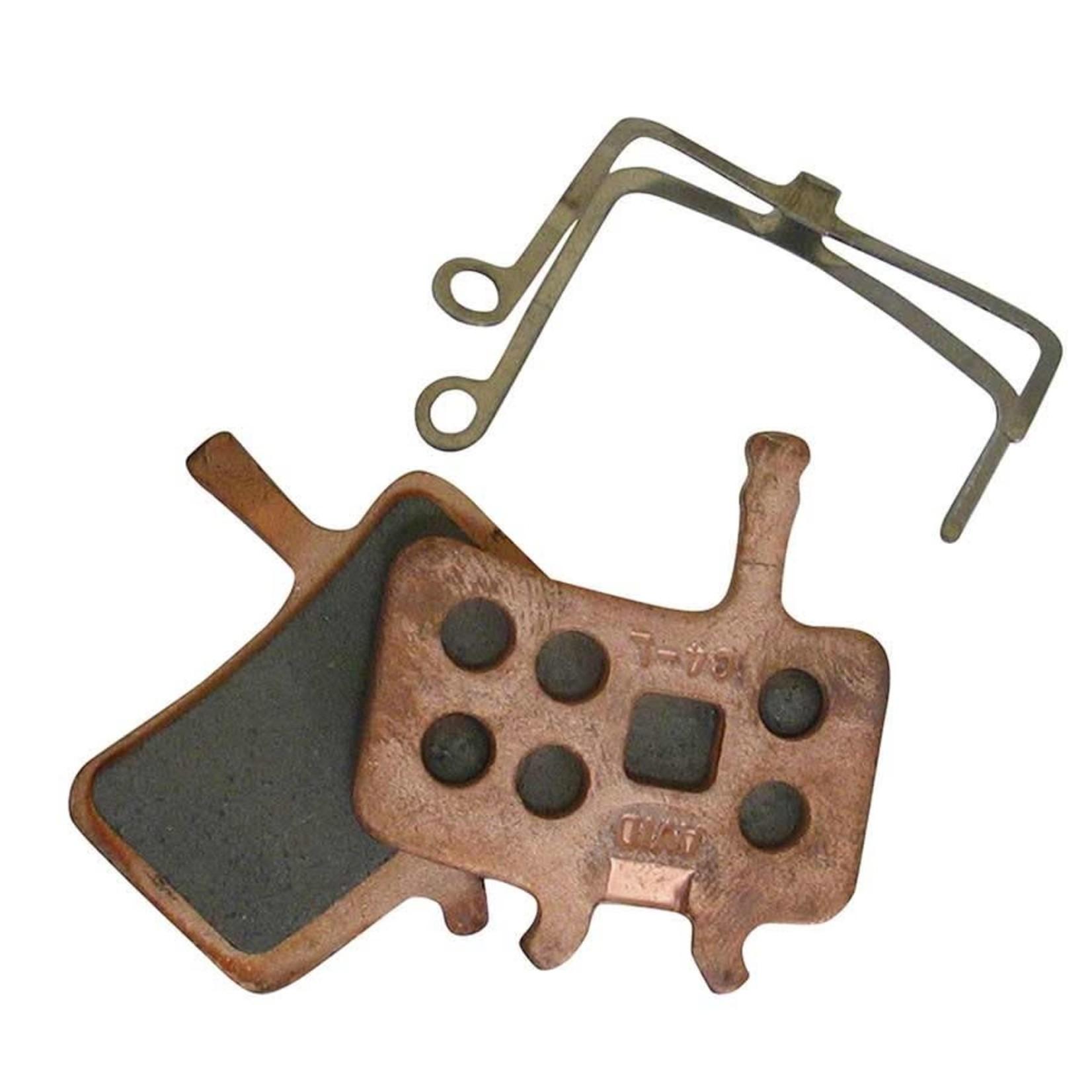 Avid Juicy & BB7 Disc Brake Pads, Sintered metal, Steel back plate