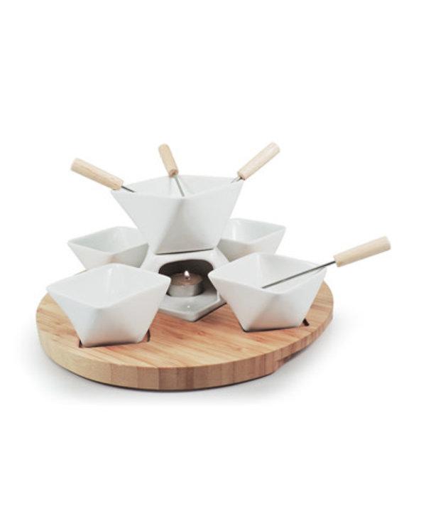 Rubik ensemble fondue chocolat 12 pièces