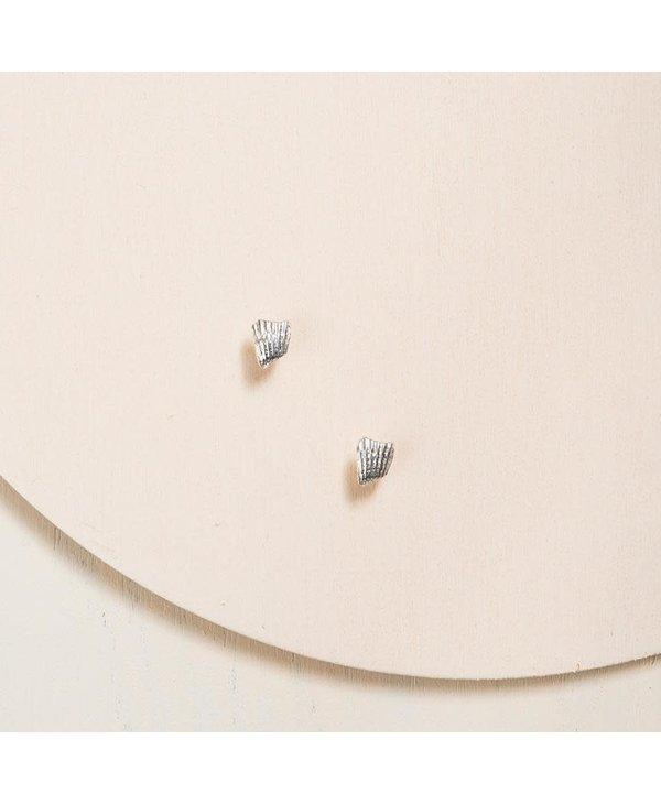 Boucles d'oreilles coquillages-Argent sterling 925