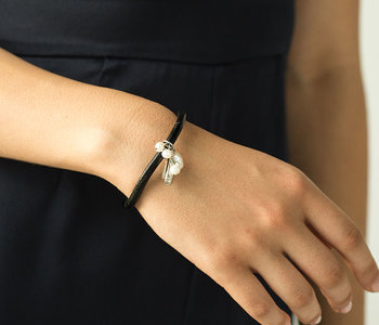 Bracelet Édelia, Noir/Black