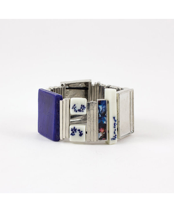 Bracelet Tricia, Cobalt