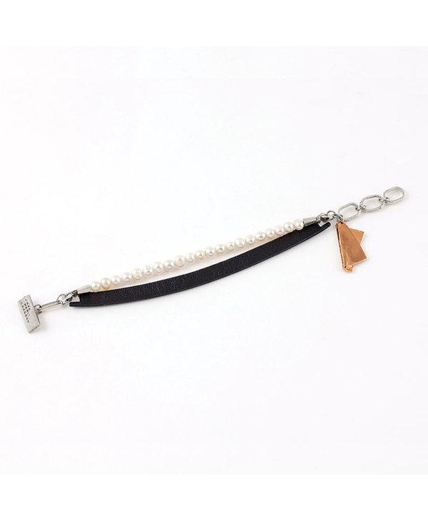 Bracelet Géraldine, Bronze