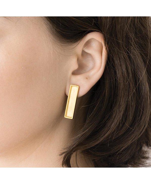Boucles d'oreilles Lan, Bronze