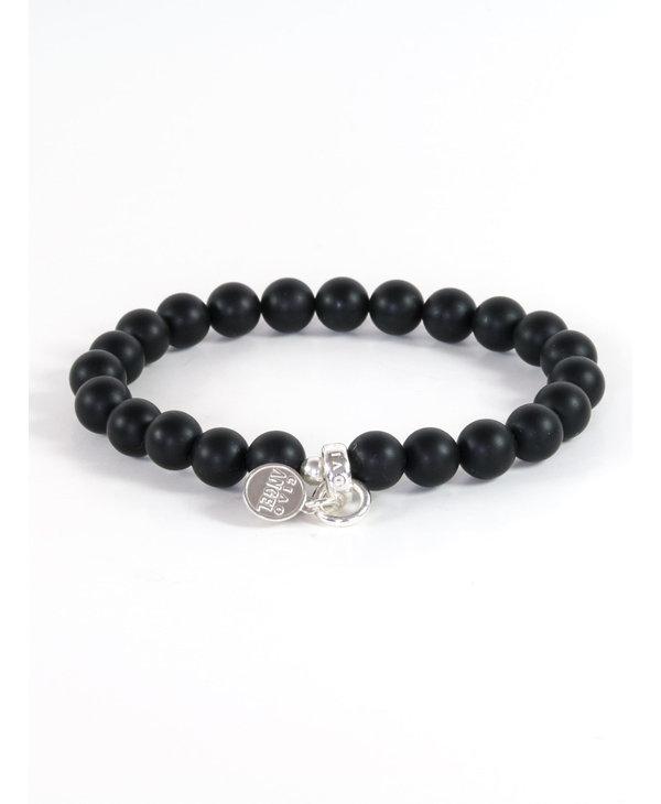 Bracelet Gemstone Homme Onyx mate