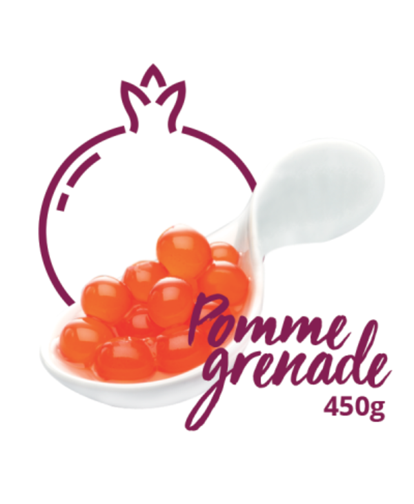 Bulles fusion saveur de pomme grenade 450g