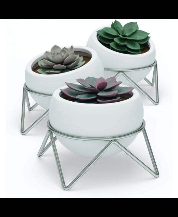 Trio pots pour plantes Potsy