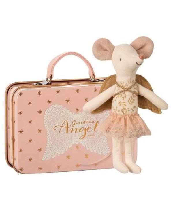 Souris Ange gardien dans valise
