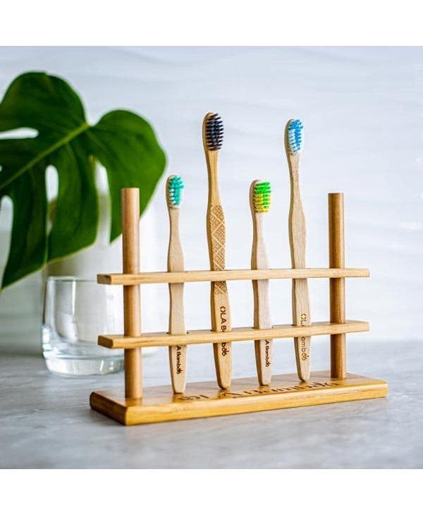 Porte-brosse à dents- 4 trous