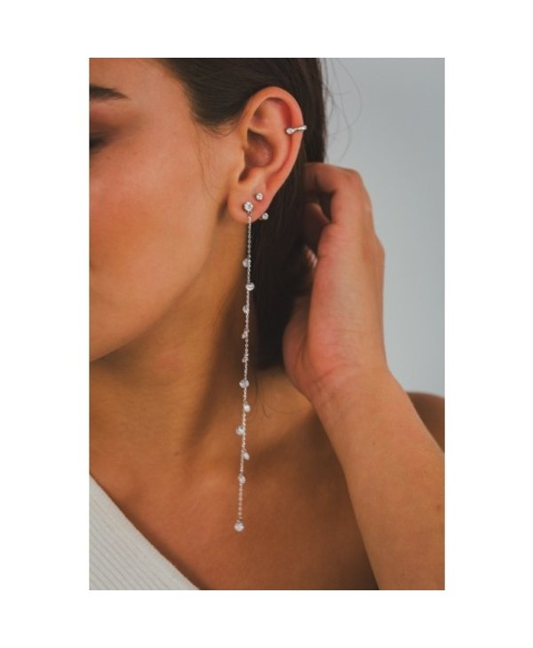 Boucles d'oreilles Crystal Fall