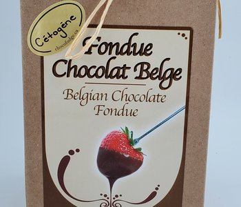 Fondue au chocolat belge Cétogène 450 gr