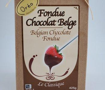 Fondue au chocolat beige blanc et Oréo 425gr