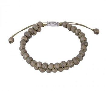 Bracelet Bohème kaki
