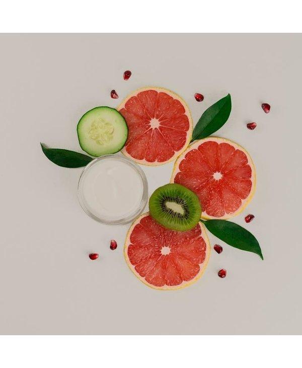 Crème visage aux superfruits
